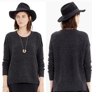 Madewell Sweater Tuxedo-stripe Texturework